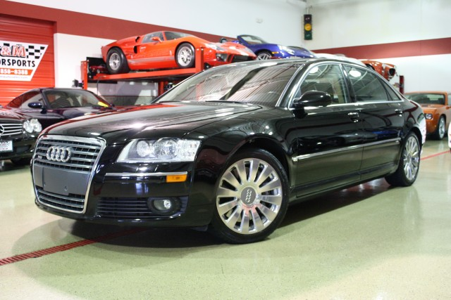 2005 audi a8 l w12 quattro stock m4557 for sale near glen ellyn il il audi dealer. Black Bedroom Furniture Sets. Home Design Ideas