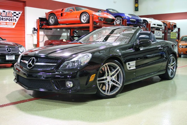 2011 Mercedes Benz Sl Class Sl63 Amg Stock M4563 For