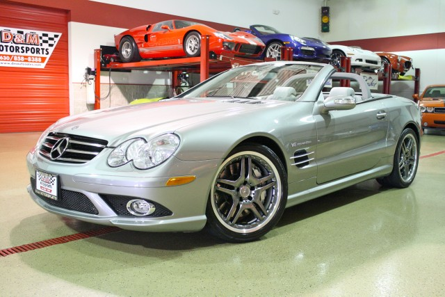 2007 mercedes benz sl class sl55 amg stock m4571 for. Black Bedroom Furniture Sets. Home Design Ideas