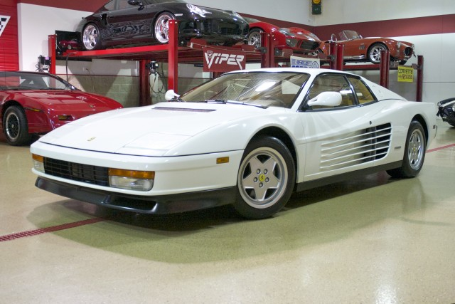 1991 Ferrari Testarossa Stock M4639 For Sale Near Glen