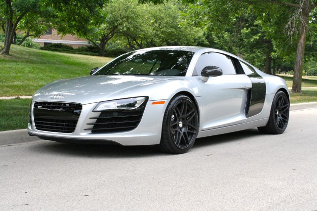 2010 audi r8 4 2 quattro stock m4692 for sale near glen for Garage audi tours