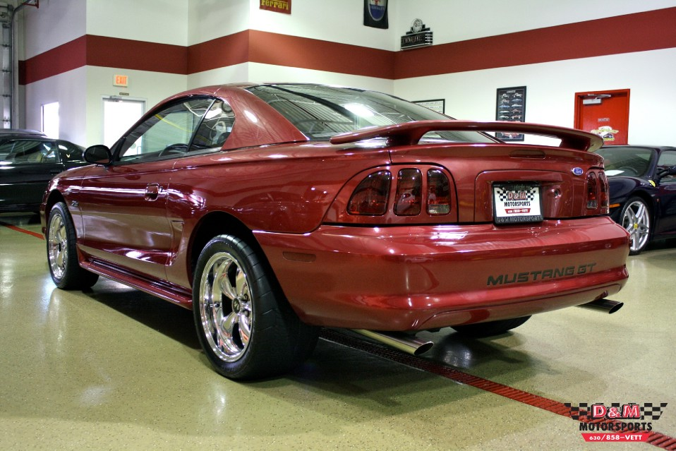 1997 Ford Mustang Gt Stock M4665 For Sale Near Glen
