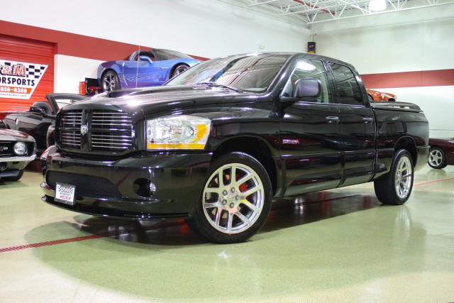 2006 dodge ram srt 10 quad cab stock m4739 for sale near glen ellyn il il dodge dealer. Black Bedroom Furniture Sets. Home Design Ideas