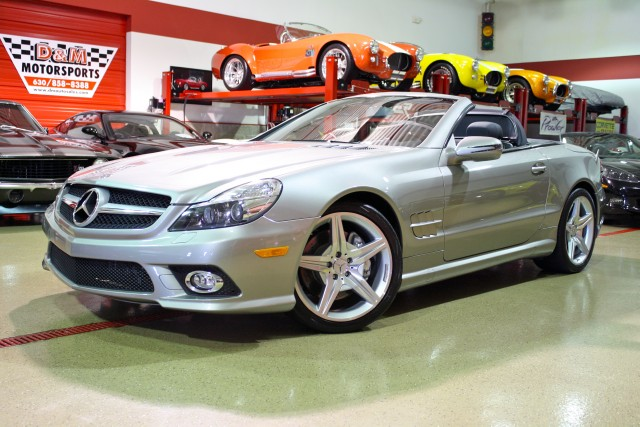 2009 mercedes benz sl550 sl550 stock m4743 for sale near for Mercedes benz sl550 used