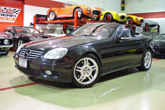 2002 mercedes benz slk class slk32 amg stock m4775 for. Black Bedroom Furniture Sets. Home Design Ideas