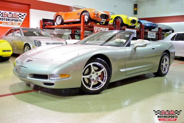 Used 2002 Chevrolet Corvette Convertible Glen Ellyn Il