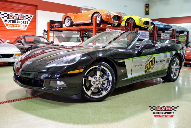 2008 chevrolet corvette indy 500 pace car replica stock m4819 for sale near glen ellyn il. Black Bedroom Furniture Sets. Home Design Ideas
