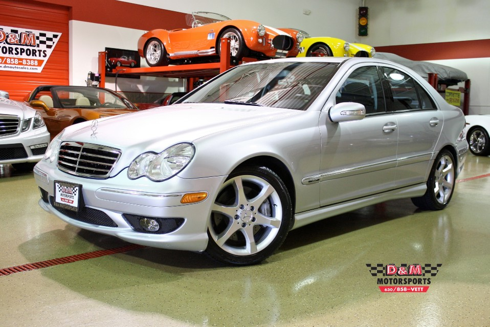 2007 Mercedes Benz C230 Sport Stock M4951 For Sale Near Glen Ellyn Il Il Mercedes Benz Dealer