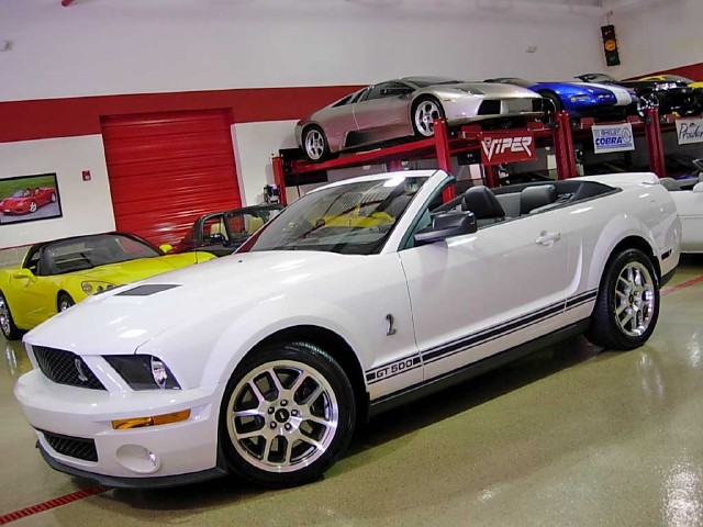 2007 ford shelby gt500 convertible stock m3836 for sale near glen ellyn il il ford dealer. Black Bedroom Furniture Sets. Home Design Ideas