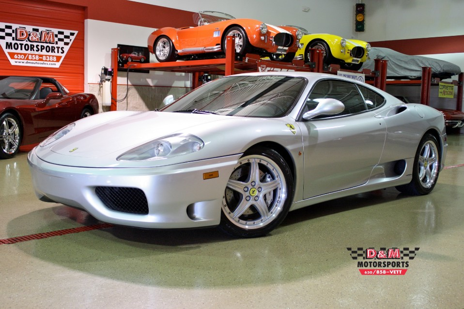 Captivating Used 2003 Ferrari 360 Modena | Glen Ellyn, IL