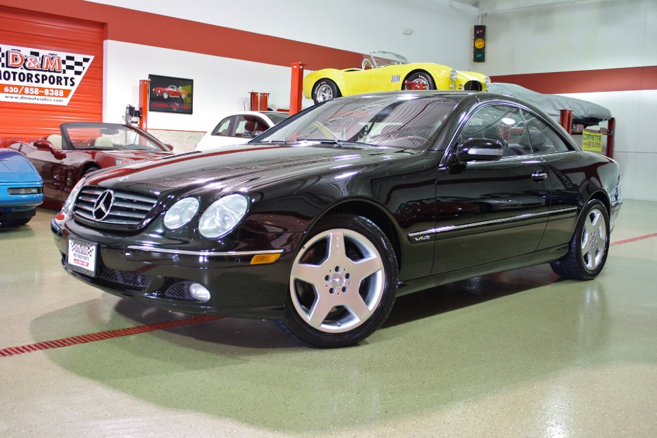 2001 mercedes benz cl600 stock m5010 for sale near glen for 2001 mercedes benz cl600