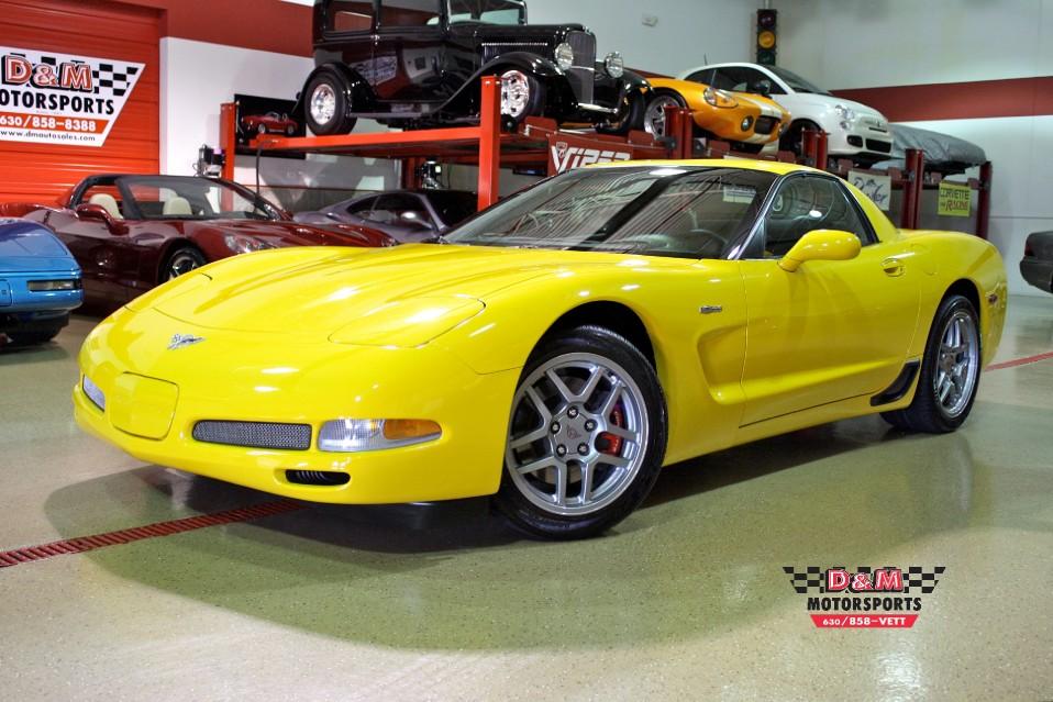 Millennium Auto Sales >> 2003 Chevrolet Corvette Z06 Stock # M5035 for sale near Glen Ellyn, IL | IL Chevrolet Dealer
