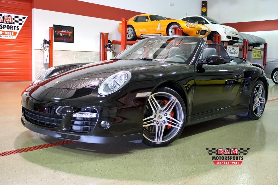 2008 Porsche 911 Turbo Cabriolet Stock M5036 For Sale Near Glen