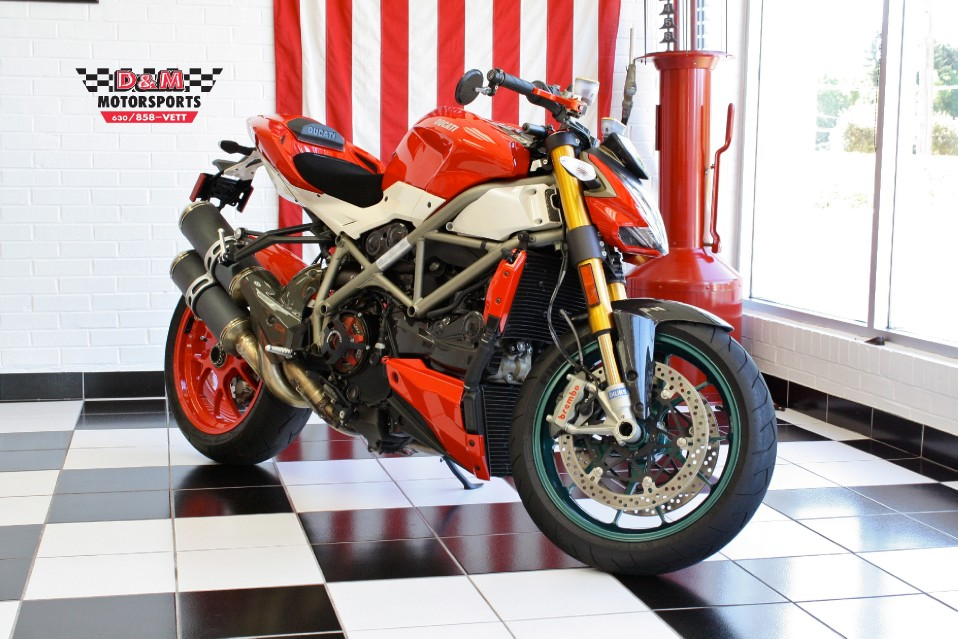 2010 Ducati Streetfighter S Stock M5046 For Sale Near