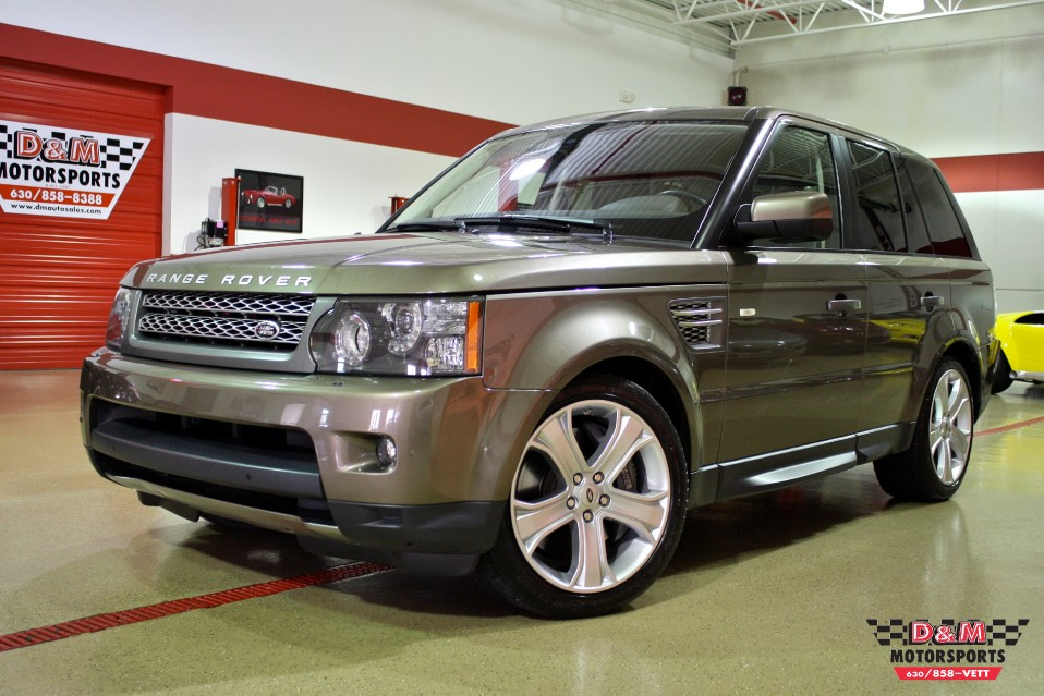 2010 land rover range rover sport supercharged stock rc001 for sale near glen ellyn il il. Black Bedroom Furniture Sets. Home Design Ideas