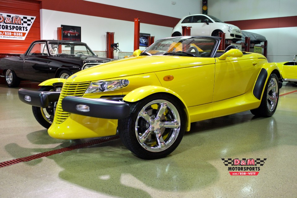 2002 Chrysler Prowler Convertible Stock M5067 For Sale Near Glen Ellyn Il Il Chrysler Dealer