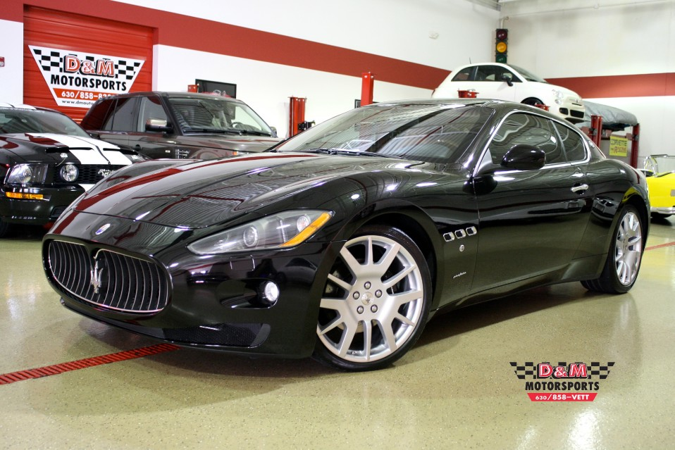 2008 maserati granturismo stock m5071 for sale near glen. Black Bedroom Furniture Sets. Home Design Ideas