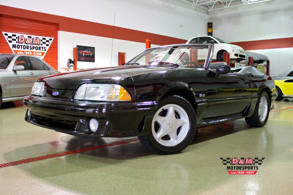 1990 Ford Mustang Gt Stock Gt50 For Sale Near Glen Ellyn