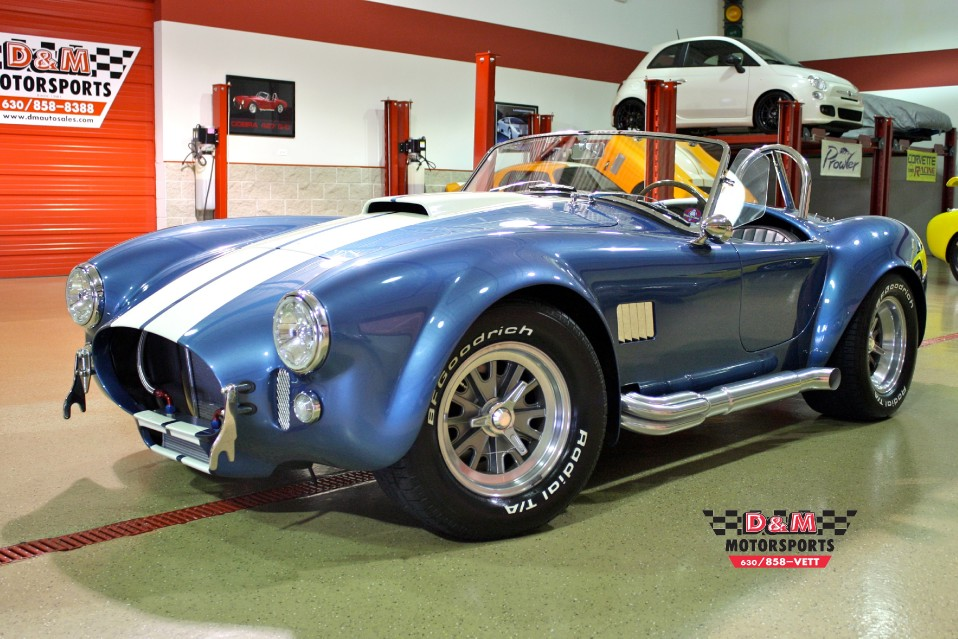 1965 Superformance Cobra Mkiii Stock M4973 For Sale Near