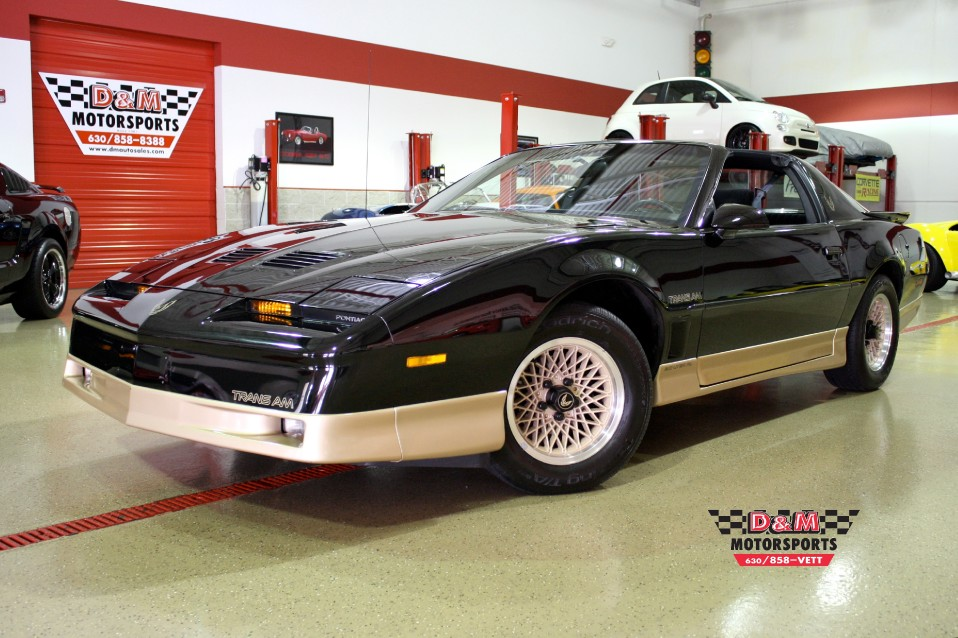 1987 Pontiac Firebird Trans Am Stock  TRANS50 for sale near Glen