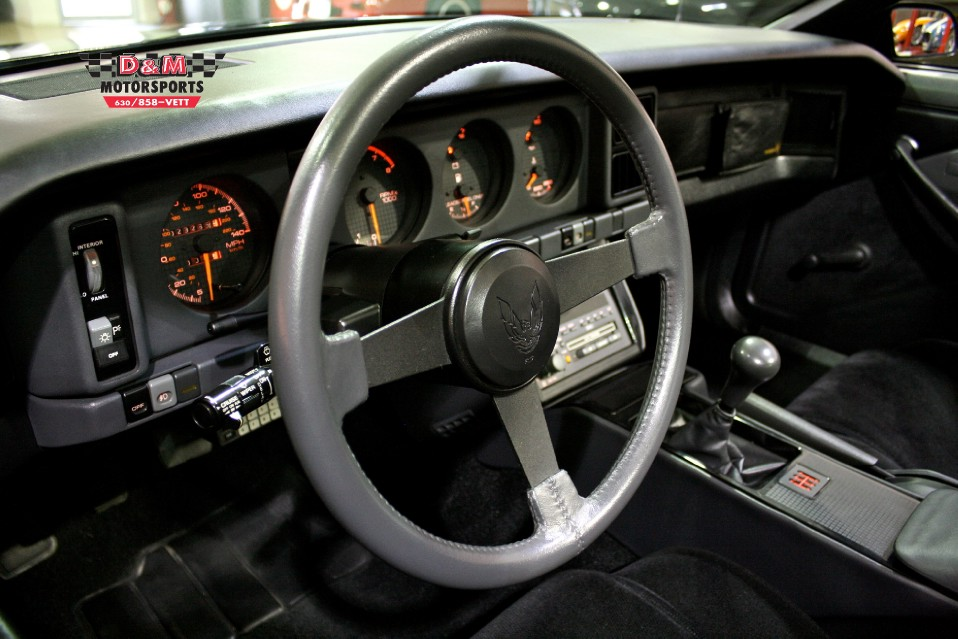 1987 Pontiac Firebird Trans Am Stock Trans50 For Sale
