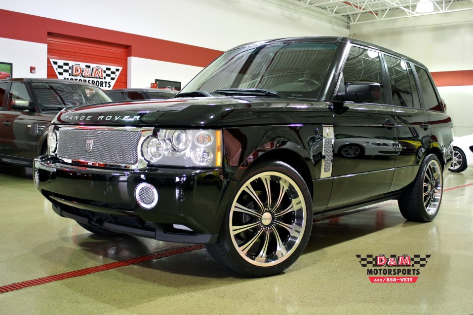 2006 land rover range rover hse stock m5103 for sale near glen ellyn il il land rover dealer. Black Bedroom Furniture Sets. Home Design Ideas