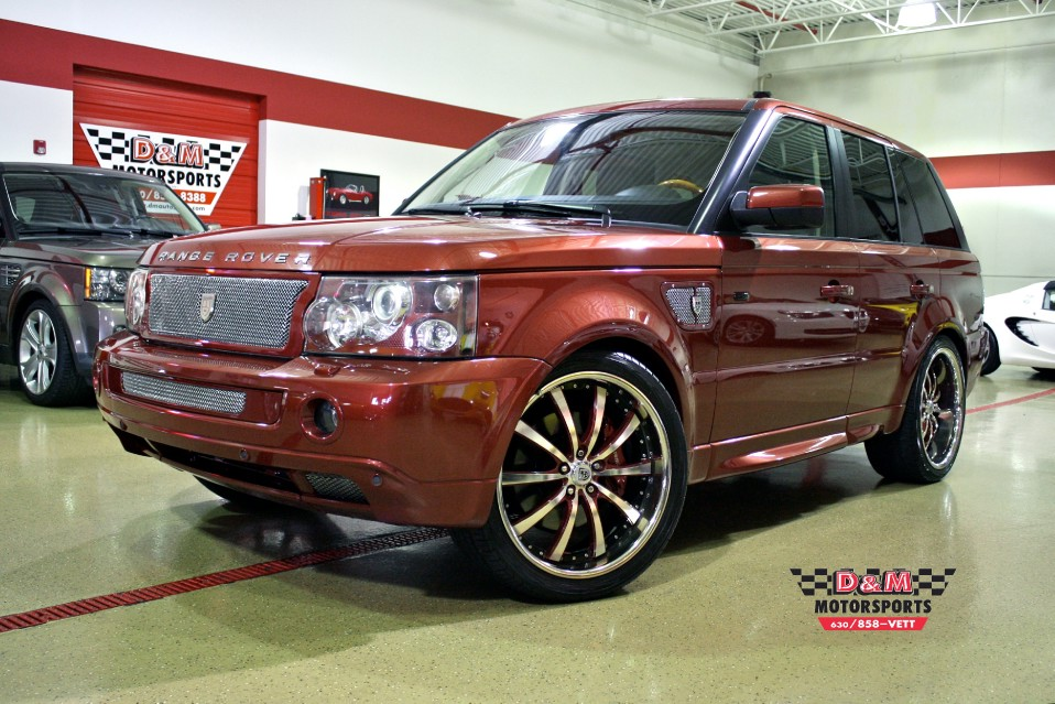 2006 land rover range rover sport supercharged stock m5104 for sale near glen ellyn il il. Black Bedroom Furniture Sets. Home Design Ideas