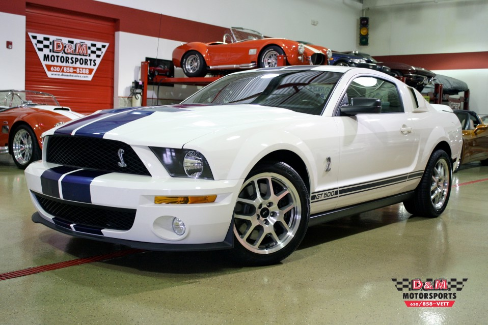 2007 ford mustang shelby gt500 stock m5142 for sale near glen ellyn il il ford dealer. Black Bedroom Furniture Sets. Home Design Ideas