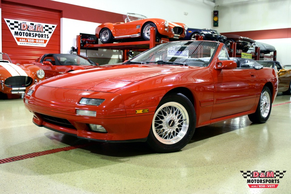 1991 mazda rx 7 convertible stock m5152 for sale near glen ellyn il il mazda dealer. Black Bedroom Furniture Sets. Home Design Ideas