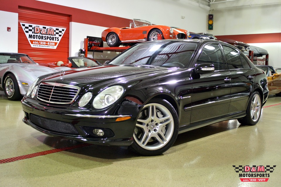 2005 mercedes benz e55 amg stock m5157 for sale near glen ellyn il il mercedes benz dealer. Black Bedroom Furniture Sets. Home Design Ideas