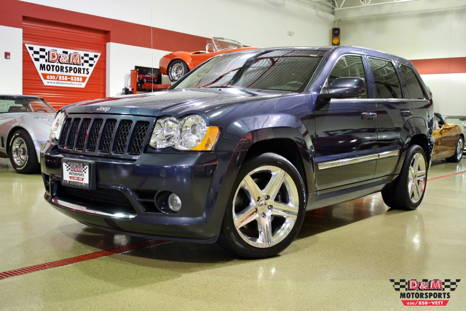 2008 jeep grand cherokee srt8 stock m5161 for sale near glen ellyn il il jeep dealer. Black Bedroom Furniture Sets. Home Design Ideas