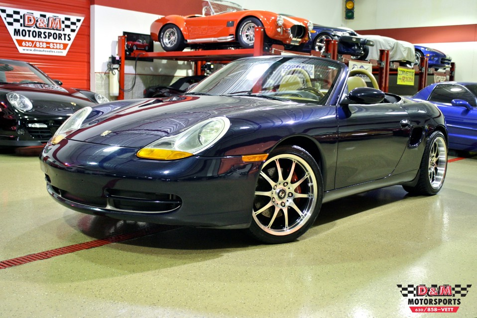 1999 porsche boxster supercharged stock m5162 for sale
