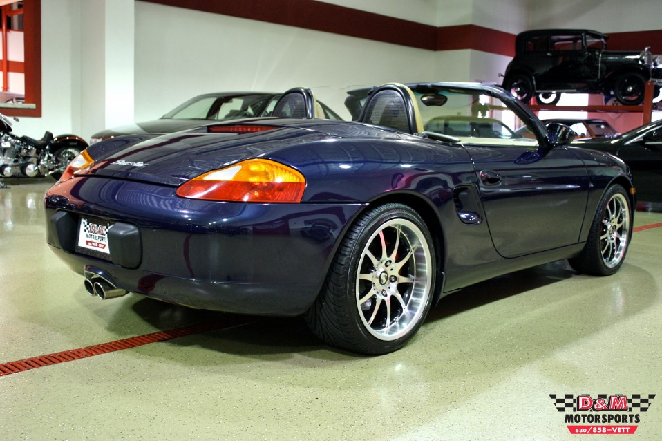1999 Porsche Boxster Supercharged Stock # M5162 for sale near Glen