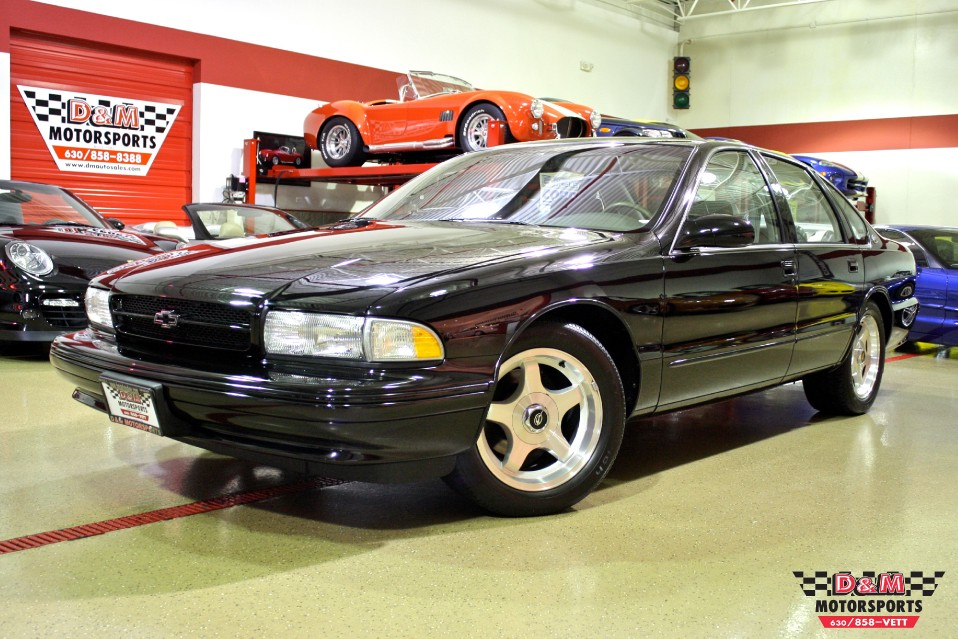 1996 Chevrolet Impala Ss Stock M5176 For Sale Near Glen