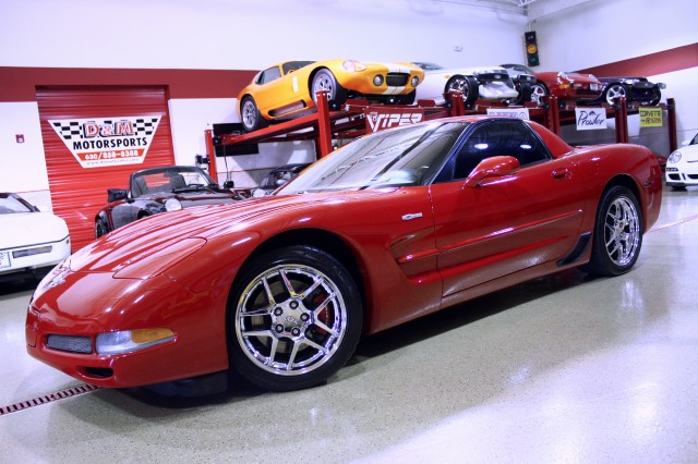 2003 chevrolet corvette z06 stock m4116 for sale near glen ellyn il il chevrolet dealer. Black Bedroom Furniture Sets. Home Design Ideas
