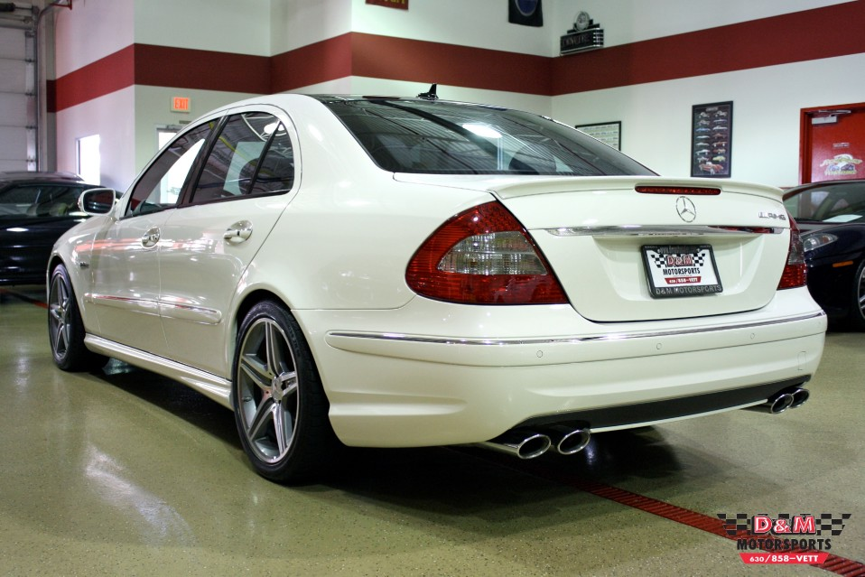 2009 Mercedes-Benz E63 AMG Stock # M5205 for sale near Glen Ellyn ...