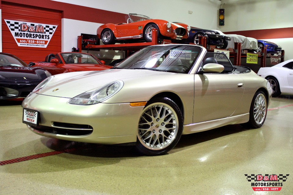 2000 Porsche 911 Carrera Cabriolet Stock M5208 For Sale