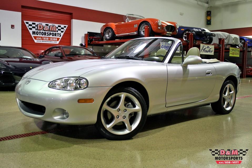 Used 2001 Mazda Mx 5 Miata Ls Glen Ellyn Il