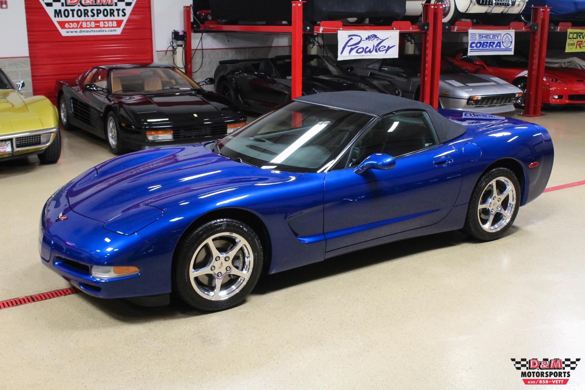 Used 2002 Chevrolet Corvette Convertible | Glen Ellyn, IL