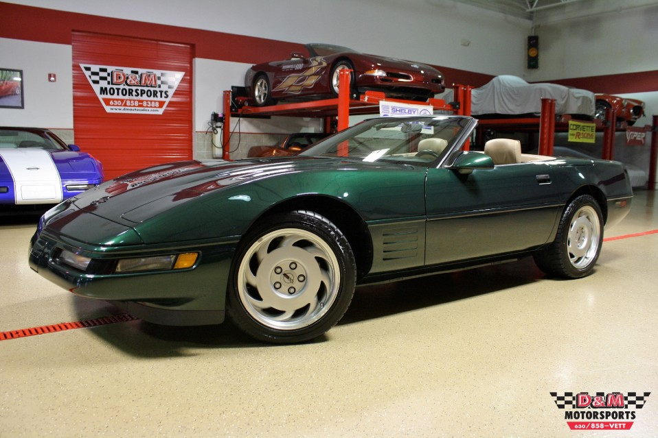 1992 chevrolet corvette convertible stock m5269 for sale near glen ellyn il il chevrolet dealer 1992 corvette interior parts