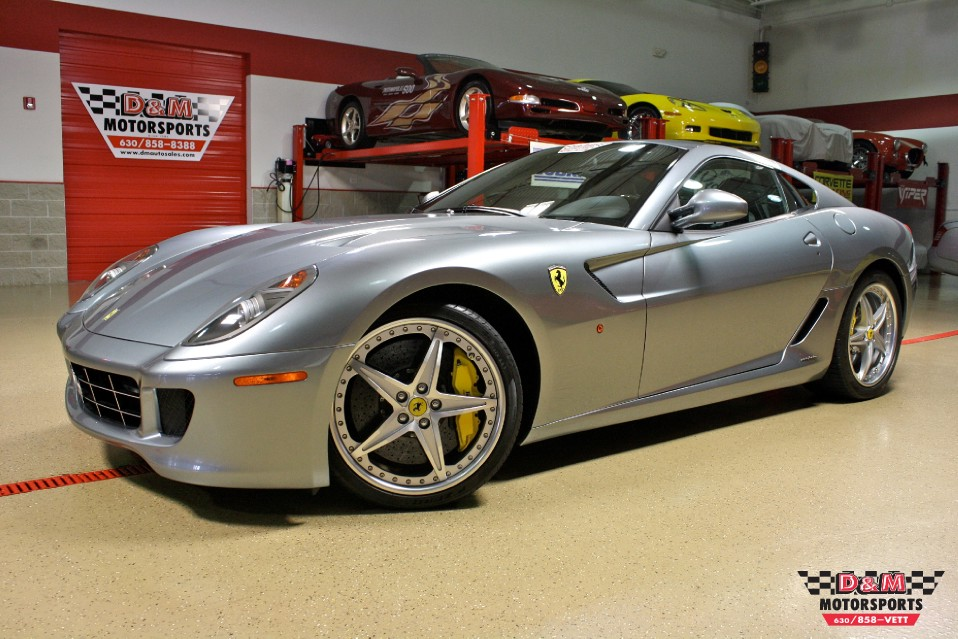 2010 Ferrari 599 Gtb Fiorano Hgte Stock M5277 For Sale