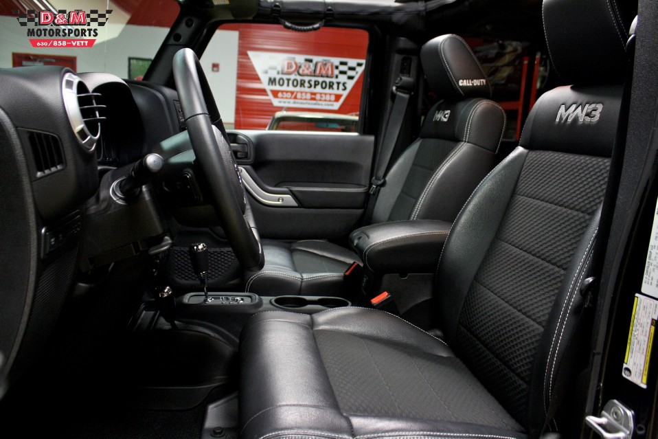 2012 Jeep Wrangler Unlimited Call Of Duty Mw3 Stock M5287 For Sale