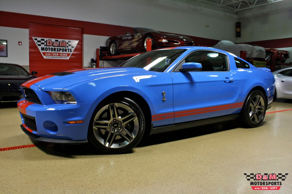 2010 ford shelby gt500 coupe stock m5301 for sale near glen ellyn il il ford dealer. Black Bedroom Furniture Sets. Home Design Ideas