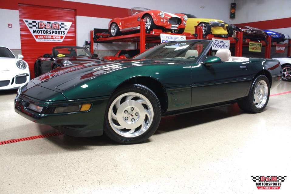 1995 chevrolet corvette convertible stock m5302 for sale. Black Bedroom Furniture Sets. Home Design Ideas