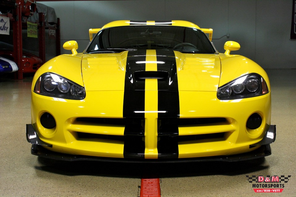 2009 Dodge Viper Srt 10 Acr Stock M5319 For Sale Near