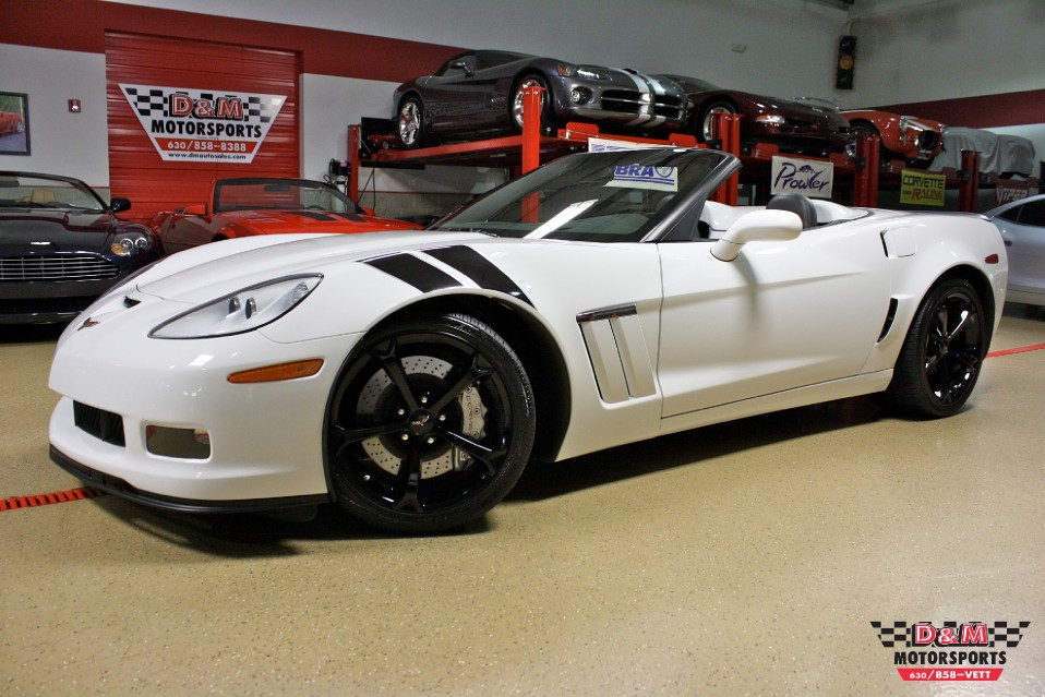 2010 chevrolet corvette grand sport convertible stock m5353 for sale near glen ellyn il il. Black Bedroom Furniture Sets. Home Design Ideas