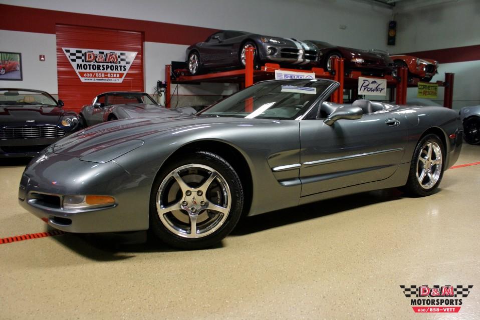 2003 Chevrolet Corvette Convertible Stock M5356 For Sale