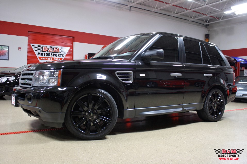 2009 land rover range rover sport hse stock m5637 for sale near glen ellyn il il land rover. Black Bedroom Furniture Sets. Home Design Ideas