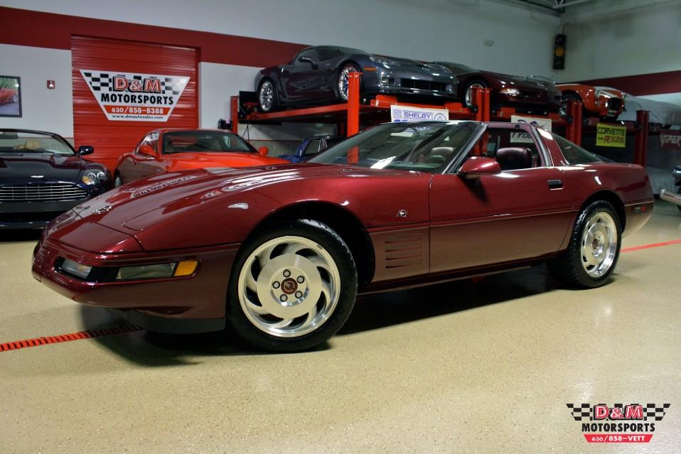 1993 Chevrolet Corvette 40th Anniversary Coupe Stock