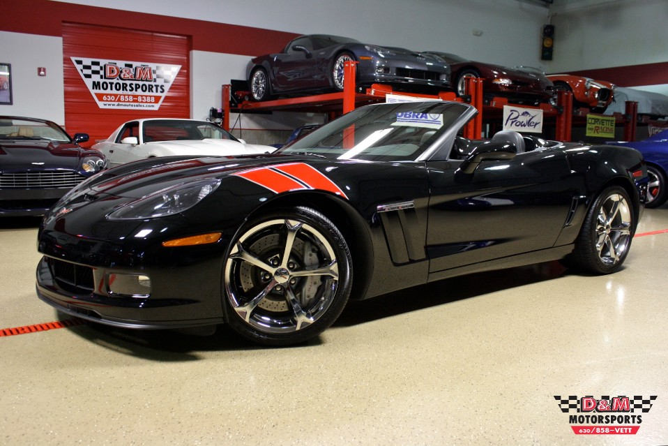 2010 chevrolet corvette grand sport convertible stock m5396 for sale near glen ellyn il il. Black Bedroom Furniture Sets. Home Design Ideas